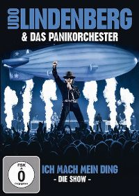 Cover Udo Lindenberg & das Panikorchester - Ich mach mein Ding - Die Show [DVD]